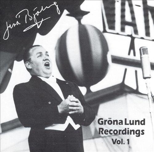 Gröna Lund Recordings, Vol. 1