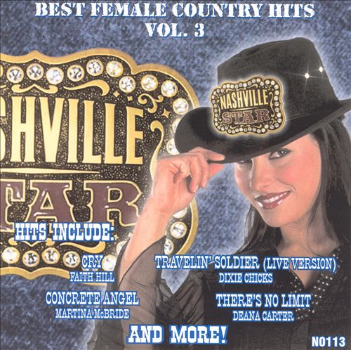 Nashville Star Best Female Country Hits, Vol. 3