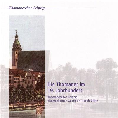 Die Thomaner im 19. Jahrhundert