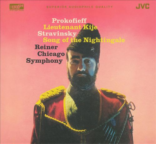 Prokofieff: Lieutenant Kije; Stravinsky: Song of the Nightingale