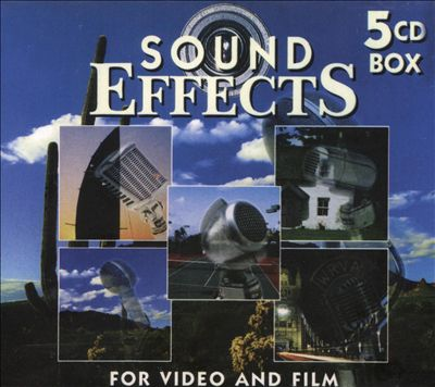 Sound Effects, Vol. 1 [5 Discs] [Box Set]