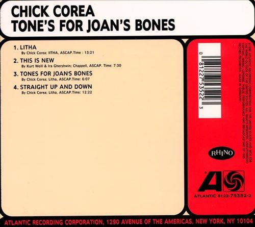 Tones for Joan's Bones
