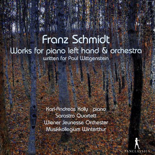 Franz Schmidt: Works for piano left hand & orchestra