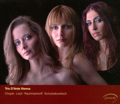 Chopin, Liszt, Rachmaninov, Shostakovich: Piano Trios