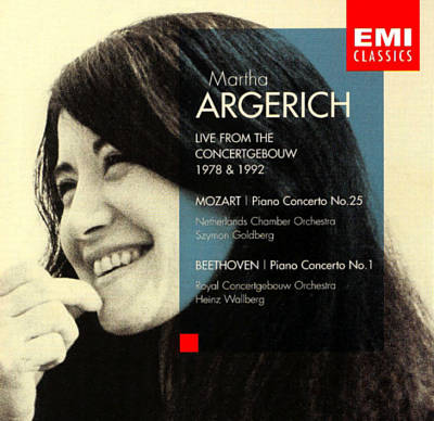 Martha Argerich: Live from the Concertgebouw, 1978 & 1992