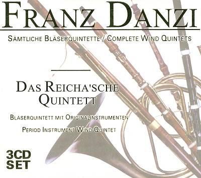 Franz Danzi: Complete Wind Quintets