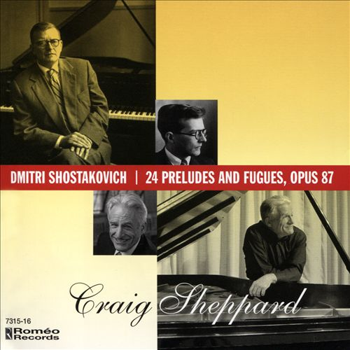 Dmitri Shostakovich: 24 Preludes and Fugues, Op. 87