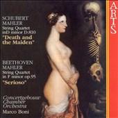 Mahler's Arrangements of Schubert's 'Death and the Maiden' & Beethoven's String Quartet 'Serioso'
