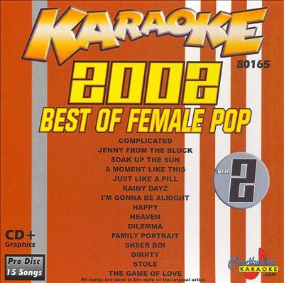 Chartbuster Karaoke: Best of Female Pop 2002, Vol. 2