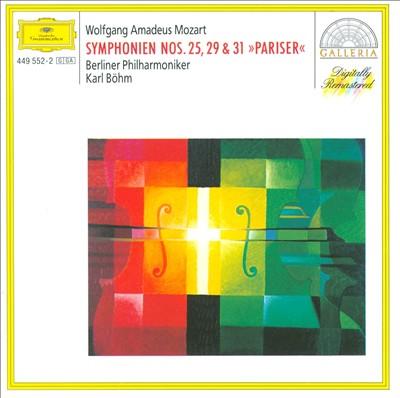 Mozart: Symphonien Nos. 25, 29 & 31