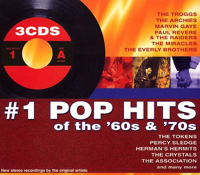 #1 Pop Hits of the 60s & 70s [Madacy Box]