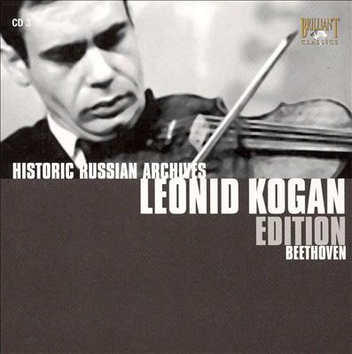 Leonid Kogan Edition Vol. 3