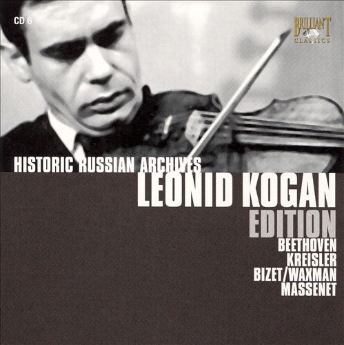 Leonid Kogan Edition Vol. 6