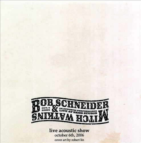 An Acoustic Performance: Live at Bend Studio with Mitch Watkins [October 2006]