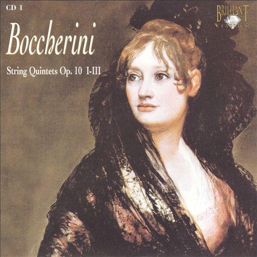 Boccherini: String Quintets Op. 10, Nos. 1-3