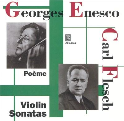 Poème and Violin Sonatas