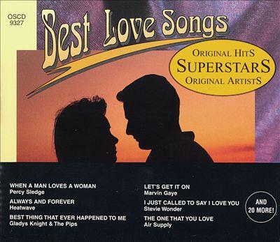 Superstars Best Love Songs, Vol. 3-4