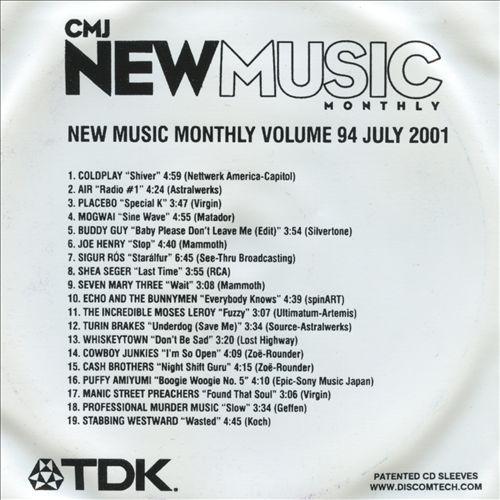 CMJ New Music, Vol. 94