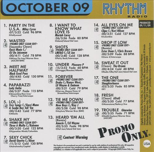 Promo Only: Rhythm Radio (October 2009)