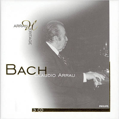 Claudio Arrau Performs Bach