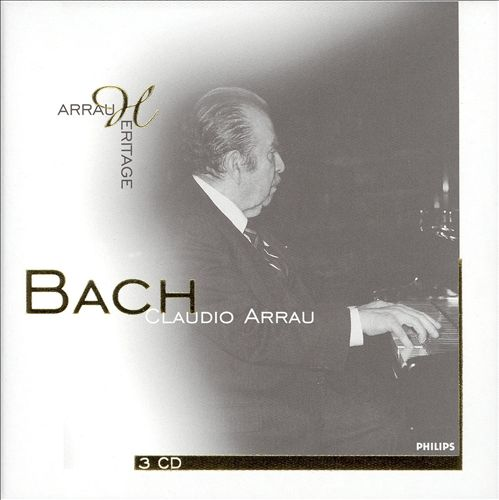 Claudio Arrau Performs Bach