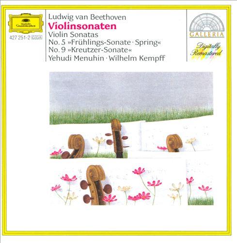 Beethoven: Violin Sonatas 5 & 9 [European Import]