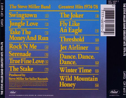 Greatest Hits 1974-78