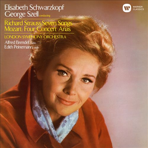 Richard Strauss: Seven Songs; Mozart: Four Concert Arias