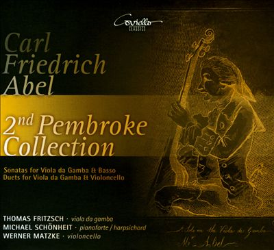Carl Friedrich Abel: 2nd Pembroke Collection