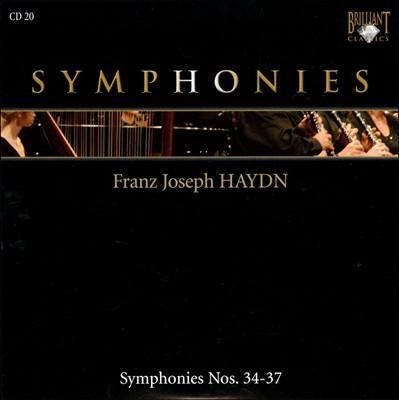 Franz Joseph Haydn: Symphonies Nos. 34-37