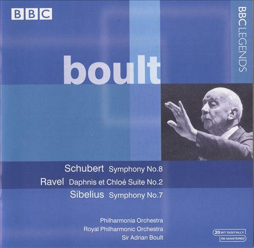 Boult: Schubert Symphony No. 8; Ravel: Dahpnis et Chloe Suite No. 2