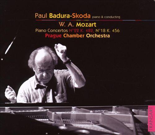 Mozart: Piano Concertos Nos. 22 & 18