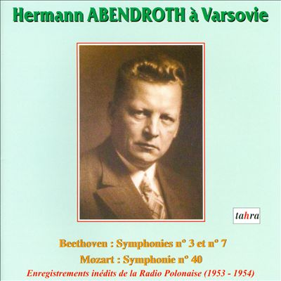 Hermann Abendroth à Varsovie