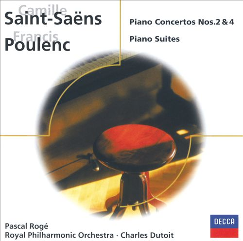 Saint-Saëns: Piano Concertos Nos. 2 & 4; Poulenc: Piano Suites