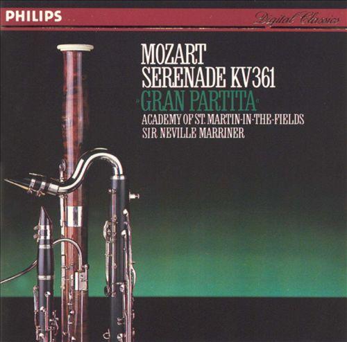 Mozart: Gran Partita, KV 361