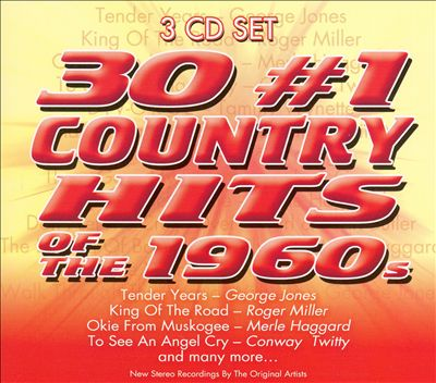 30 #1 Country Hits of the 1960s