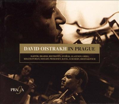 David Oistrakh in Prague