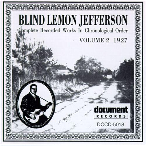 Blind Lemon Jefferson, Vol. 2