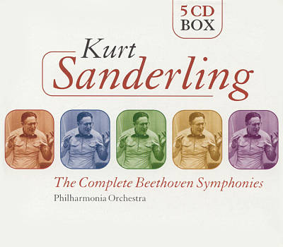 Kurt Sanderling: The Complete Beethoven Symphonies (Box Set)