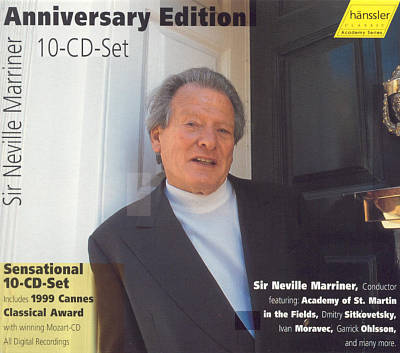 Sir Neville Marriner: Anniversary Edition