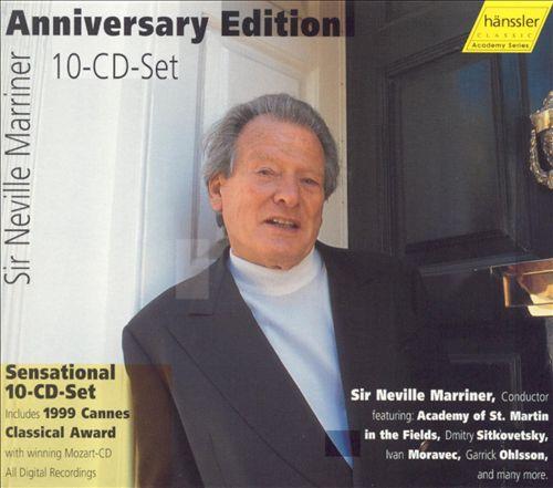 Sir Neville Marriner: Anniversary Edition