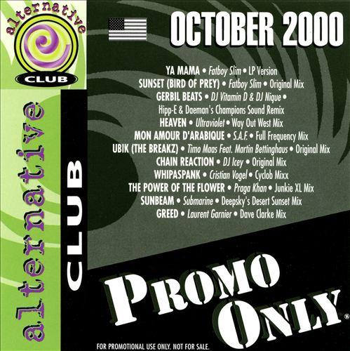 Promo Only: Alternative Club (October 2000)