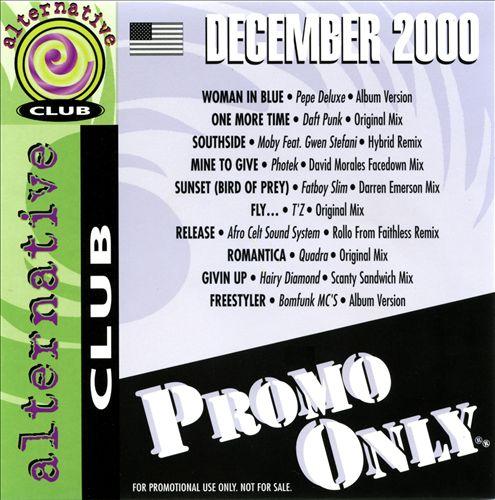 Promo Only: Alternative Club (December 2000)