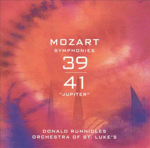 Mozart: Symphonies 39 & 41 (