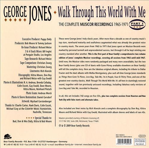 Walk Through This World with Me -- The Complete Musicor Recordings, 1965-1971: Pt. 1