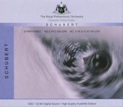 Schubert: Symphonies Nos. 2 & 5 [Germany]