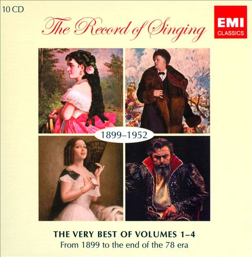 The Record of Singing, 1899-1952: The Very Best of Volumes 1-4