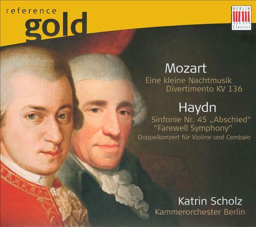 Mozart: Eine kleine Nachtmusik; Haydn: Simphonie Nr. 45