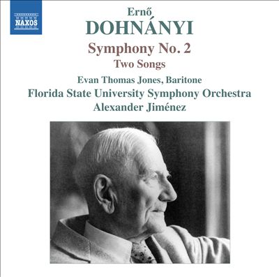 Dohnányi: Symphony No. 2; Two Songs