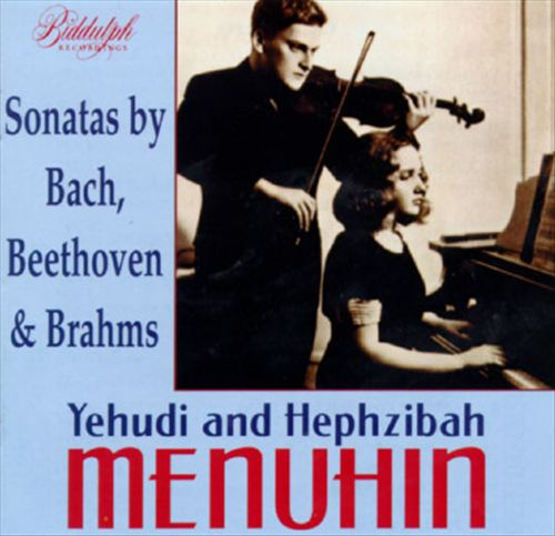 Sonatas by Beethoven, Brahms and Bach